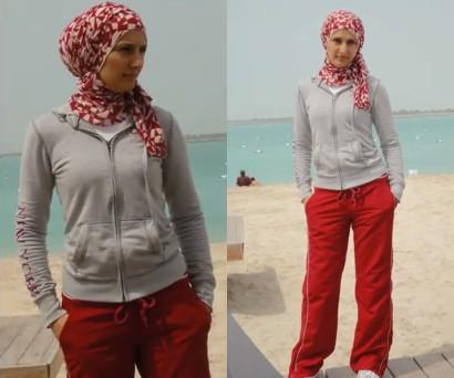 hijab sporty