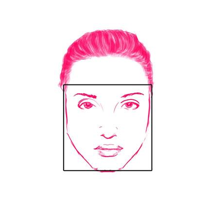 Jika anda memiliki bentuk wajah yang mirip dengan bentuk wajah kotak yakni  kotak maka dapat menggunakan dalaman ciput ninja c89a086478
