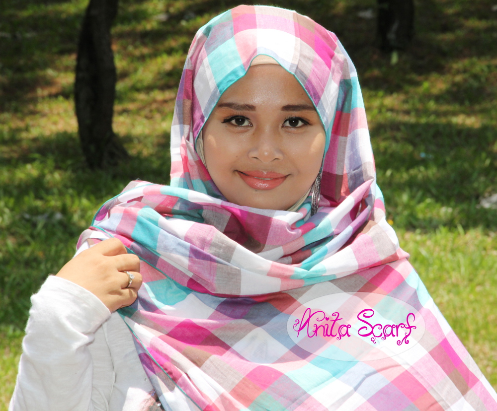 Hijab Warna Warni Ala AnitaScarf Tutorial Pashmina By Anita Scarf
