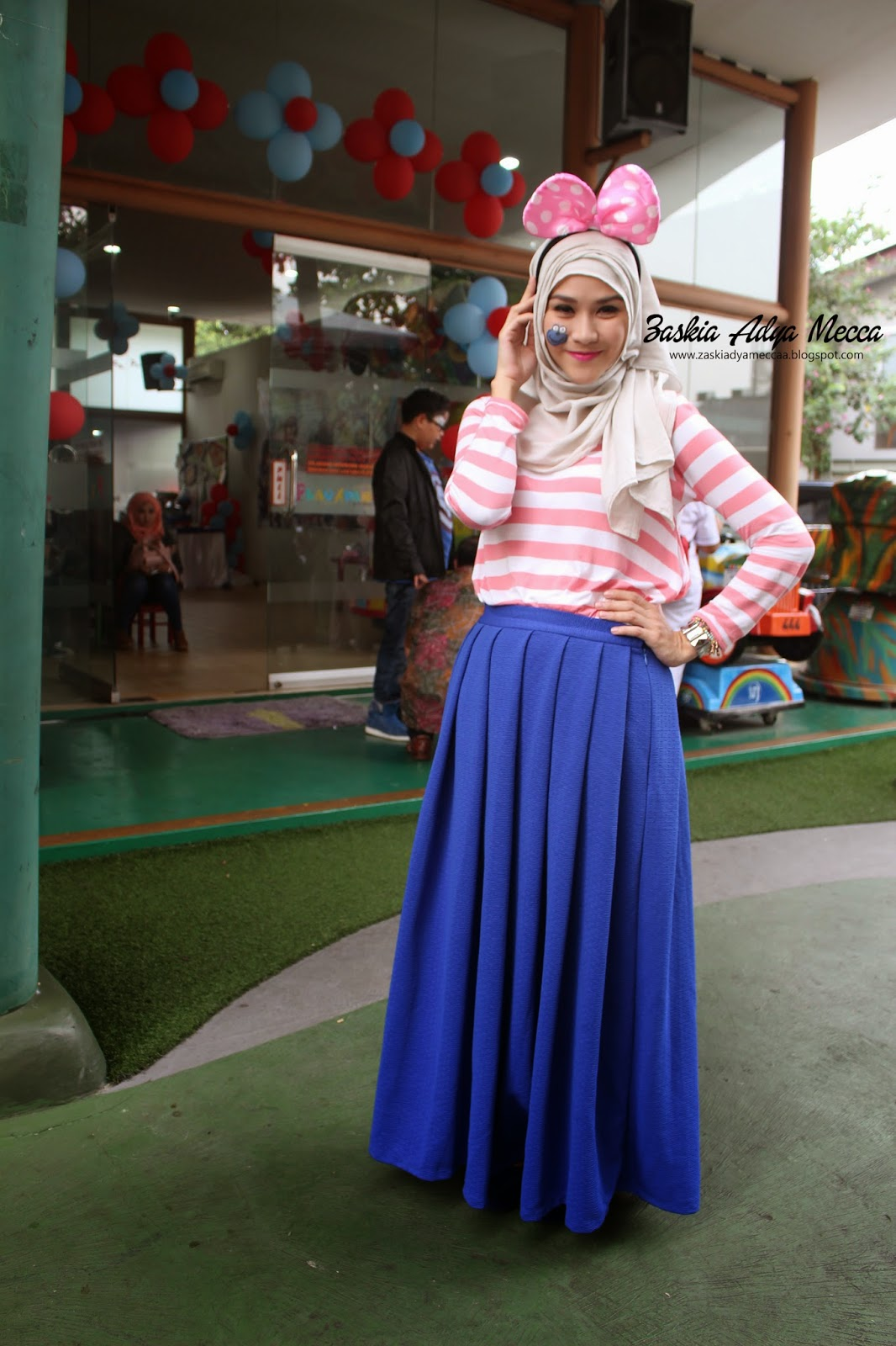 Hijab Ala Zaskia Adya Mecca Tutorial Pashmina By Anita Scarf
