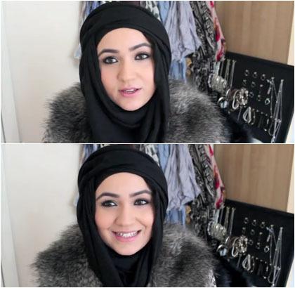 Model 5. Tips Hijab untuk Pipi Chubby image