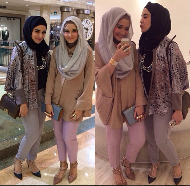 Hijab Simple Dan Chic Ala Shireen Sungkar Tutorial