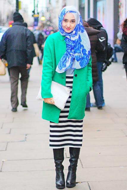 Hijab Street Ala Dian Pelangi Tutorial Pashmina By Anita
