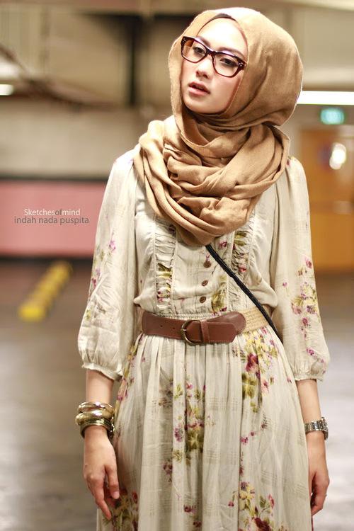 ... Hijaber Dengan Menggunakan Kacamata | Tutorial Pashmina by Anita Scarf
