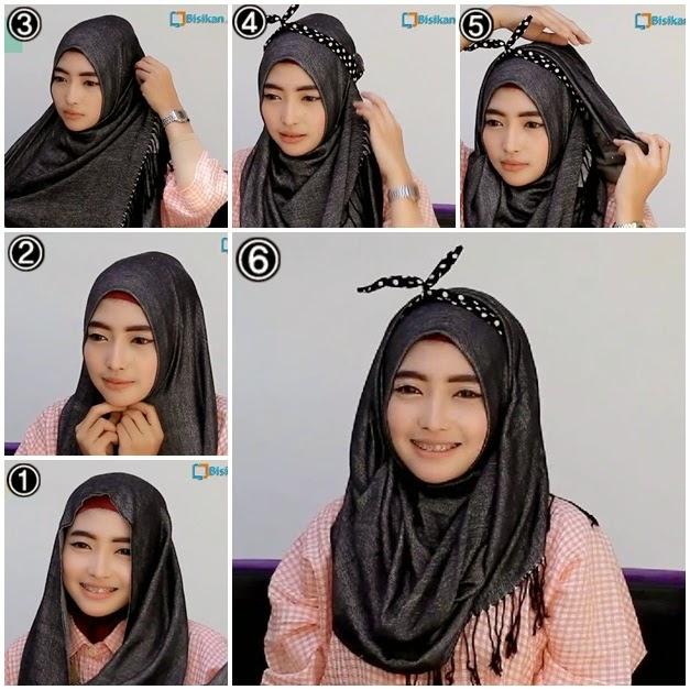 Model 4. Tips Hijab untuk Pipi Chubby image