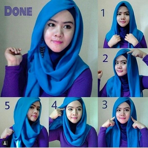 Model 3. Tips Hijab untuk Pipi Chubby image